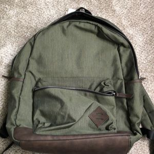 Old Navy green backpack